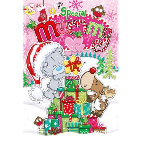 Special Mummy My Dinky Bear Me to You Bear Christmas Card  £2.49
