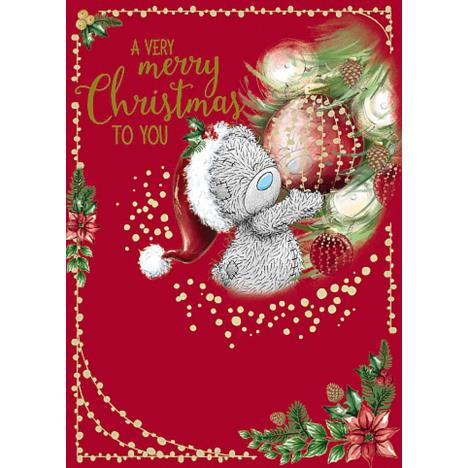 Very Merry Christmas Me To You Bear Christmas Card  £1.79