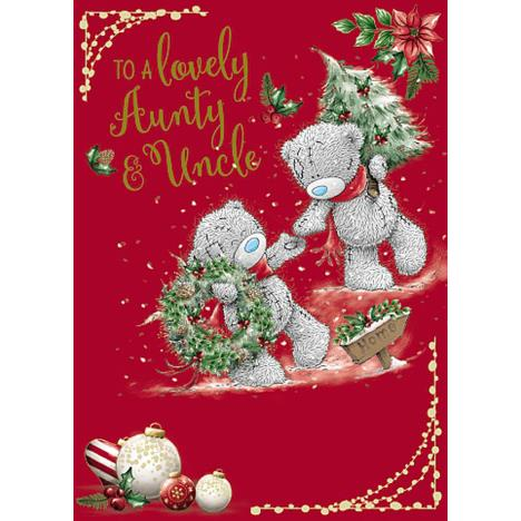 Lovely Aunty & Uncle Me To You Bear Christmas Card  £1.79