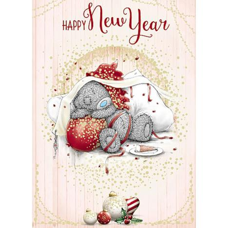 Happy New Year Me To You Bear Christmas Card  £1.79