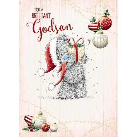 Brilliant Godson Me To You Bear Christmas Card  £1.79