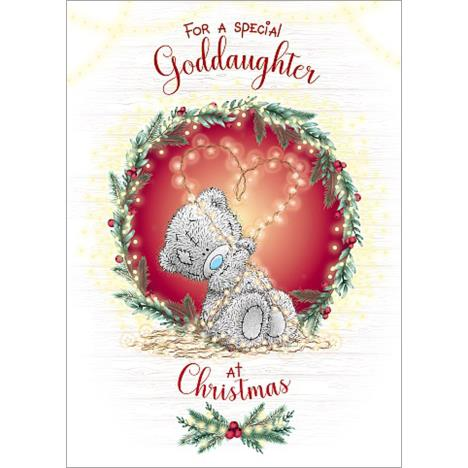 Special Goddaughter Me to You Bear Christmas Card  £1.79
