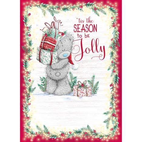 Season To Be Jolly Me to You Bear Christmas Card  £1.79
