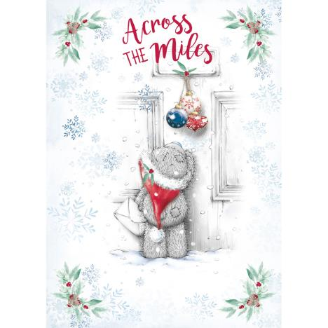Across The Miles Me to You Bear Christmas Card  £1.79