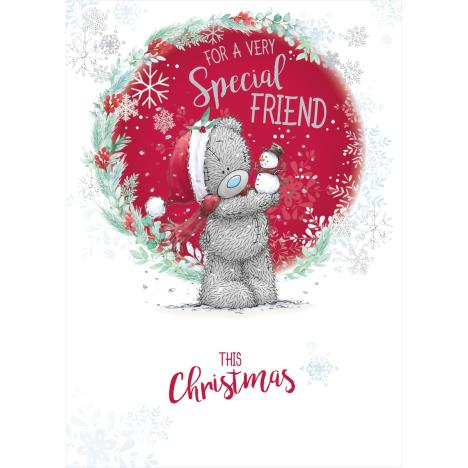 Very Special Friend Me to You Bear Christmas Card  £1.79