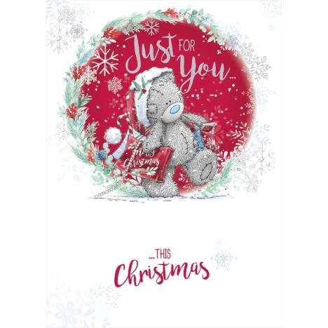 Just For You Me to You Bear Christmas Card  £1.79