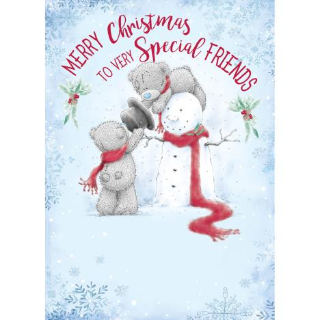 Very Special Friends Me to You Bear Christmas Card  £1.79