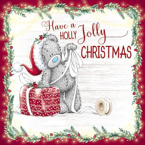 Holly Jolly Christmas Me to You Bear Christmas Card  £2.09