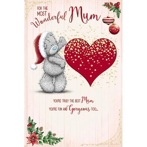 Wonderful Mum Pop Up Me To You Bear Christmas Card  £3.99