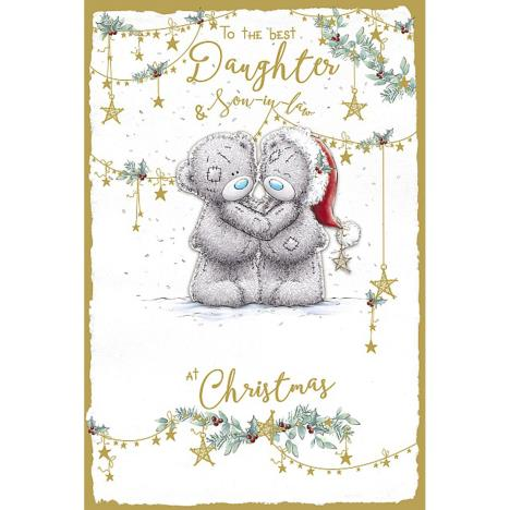 Daughter & Son in law Handmade Me to You Bear Christmas Card  £4.25