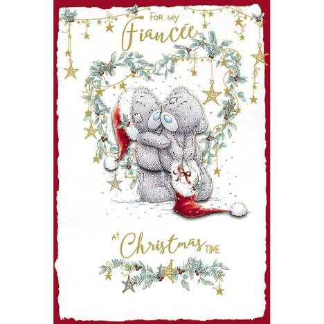 For My Fiancée Handmade Me to You Bear Christmas Card  £3.99