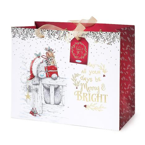 Large Me to You Bear Christmas Gift Bag  £3.00