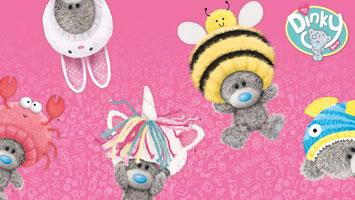 NEW! Tatty Teddy Dinky Bears