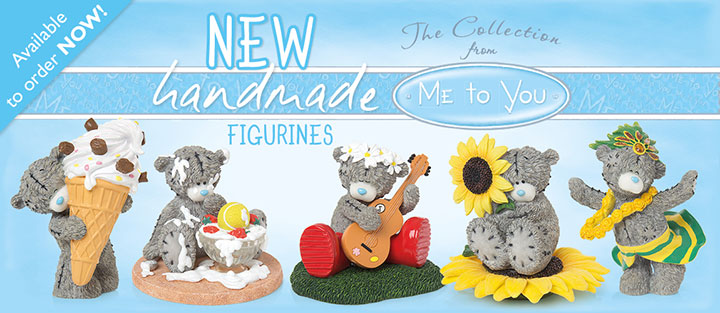 New! May Release Me to You Bear Figurines.