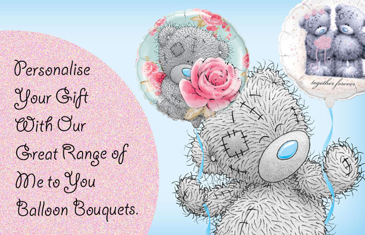 Me to You Tatty Teddy Balloon Bouquets