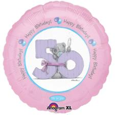 50th Birthday Me to You Bear Balloon Bouquet