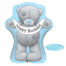 Giant Happy Birthday Tatty Teddy Me to You Balloon (Unfilled)