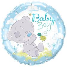 Baby Boy Tiny Tatty Teddy Me to You Balloon (Unfilled)