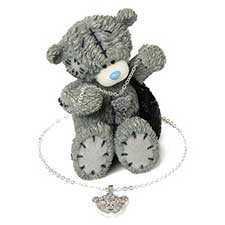 Me to You Bear Figurine & Necklace Gift Set