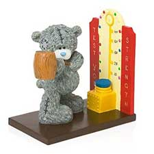 Show of Strength Test Me to You Bear Trilogy Figurine