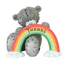 Over The Rainbow For You Me to You Bear Figurine
