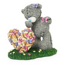 Butterfly Kisses Me to You Bear Figurine