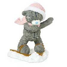 Snow Much Fun Me to You Bear Figurine