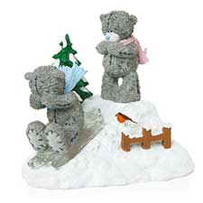 Snow Day Me to You Bear Figurine