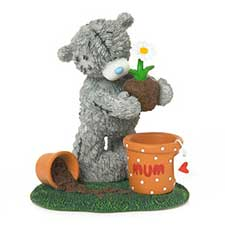 Potted With Love Mum Me to You Bear Figurine