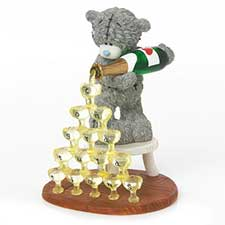 Bottoms Up Congratulations Me to You Bear Figurine