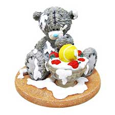 Strawberry Surprise Me to You Bear Figurine