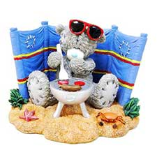 Sizzling Summer Me To You Bear Figurine