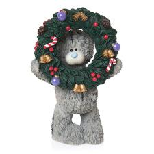 The Holly Days Are Coming Me to You Bear Figurine
