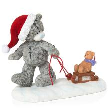 Ride Into Christmas Me to You Bear Figurine