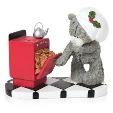 Winter Treats Me to You Bear Figurine