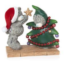 Dressing the Tree Me to You Bear Figurine