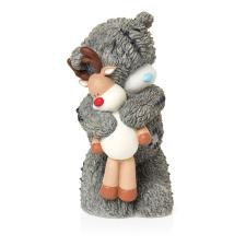 Snuggle Up Me to You Bear Christmas Figurine