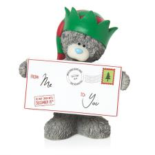 Letter To Santa Me to You Bear Christmas Figurine