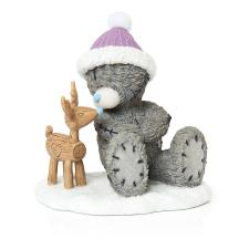 Handmade With Love Me to You Bear Christmas Figurine