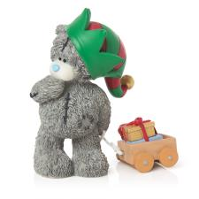 Elf Delivery Me to You Bear Christmas Figurine