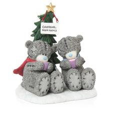 Warm Hearts Me to You Bear Christmas Figurine
