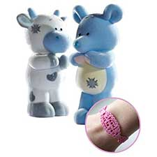 Cheddar & Milkshake My Blue Nose Friend Double Figurine Pack