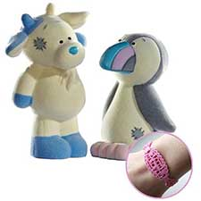 Zee Zee & Rainbow My Blue Nose Friend Double Figurine Pack