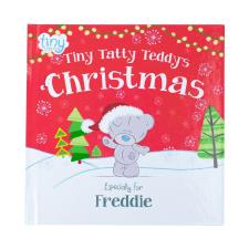 Personalised Tiny Tatty Teddy's Christmas Book - Hardback