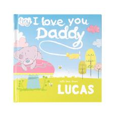 Personalised Tiny Tatty Teddy I Love You Daddy - Hardback