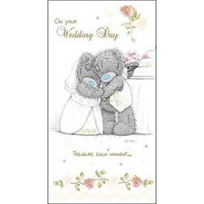 On Your Wedding Day Me to You Bear Card