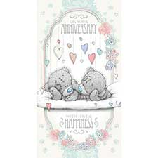 Anniversary Me to You Bear Card