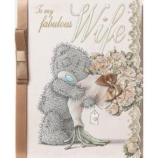 Fabulous Wife Luxury Me to You Bear Anniversary Card