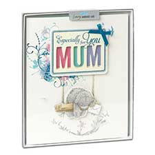 Mum Birthday Me to You Bear Handmade Boxed Card