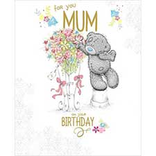 Mum Birthday Large Me to You Bear Card